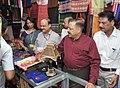 Jitendra Singh visiting after inaugurating the Purbashree stall, at Dilli Haat, INA, in New Delhi.jpg