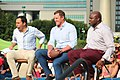 Joe Tessitore, Jason Witten, Booger McFarland - 2018 SEC Summerfest 3.jpg