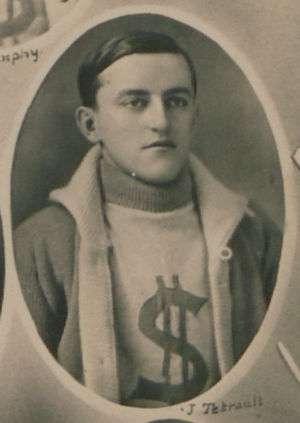 Joe Tetreault - With the Sydney Millionaires, c. 1913