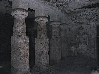 Jogeshwari Caves - Jogeshwari caves interior