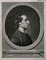 Johann Caspar Lavater. Line engraving by J. H. Lips (?). Wellcome V0003403.jpg