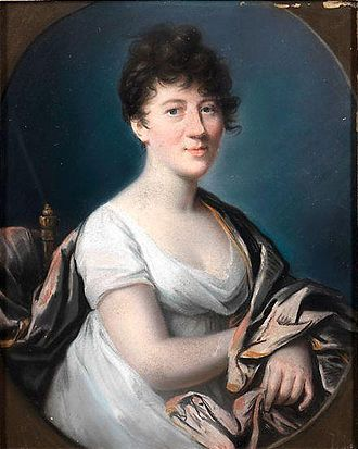 "Benjamin Constant - Charlotte von Hardenberg, Constant's second, ""secret"" wife"