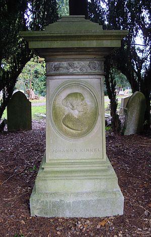 Johanna Kinkel - Kinkel's grave in Brookwood Cemetery