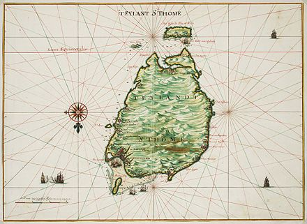 Map of Sao Tome by Johannes Vingboons (1665) Johannes Vingboons - 't eylant St. Thome (1665).jpg