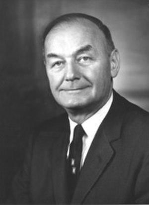 John J. Williams (senator) - Image: John J Williams
