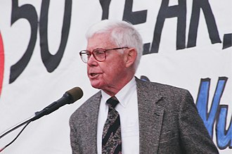 John B. Anderson - Anderson speaking in 1999