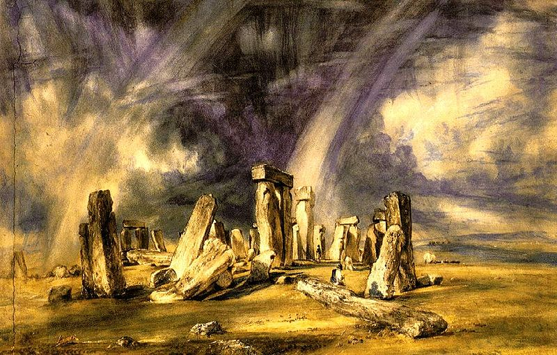 stonehenge di John Constable dipinto nel 1835