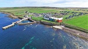 John o' Groats - Aerial view