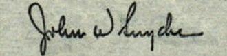 John Wesley Snyder (US Cabinet Secretary) - Image: John W Snyder sig