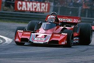 John Watson (racing driver) - John Watson Zolder 1977 Brabham BT45 Alfa Romeo