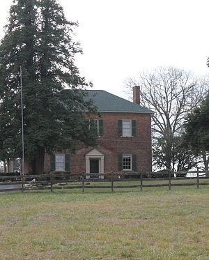 Johnson-Neel House - A view of the Johnson-Neel House from N.C. Highway 150