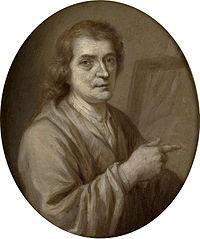 Portrait of Joost van Geel, Painter and Poet in Rotterdam