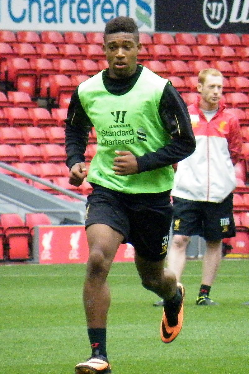 Liverpool winger Jordon Ibe