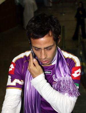 C.D. Universidad de Concepción - Jorge Valdivia, player of the club during 2003