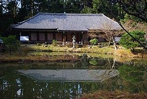 Jōruri-ji - The Paradise Hall at Joruri-ji, built in 1107.