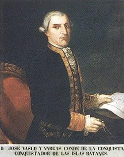 José basco y vargas