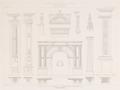 José Díaz de Bustamante (c. 1858) Detalles de la fachada de la Universidad de Alcalá.png