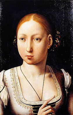 Juan de Flandes - Portrait of Joan the Mad - WGA12045.jpg