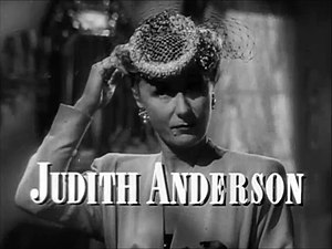 Judith Anderson - from the trailer for the film Laura (1944)
