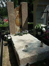 Juliusz Janicki grób.JPG