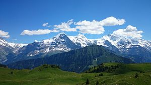 Point Break (2015 film) - Additional filming also took place in Jungfrau in the Swiss Alps.