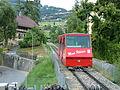 Juni 2006, Chemin de fer funiculaire Vevey–Chardonne–Mont Pèlerin 01.JPG