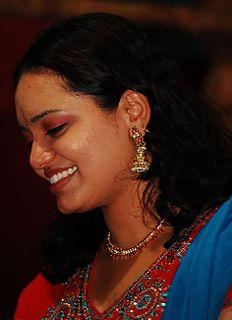 Jyotsna Radhakrishnan Indian playback singer