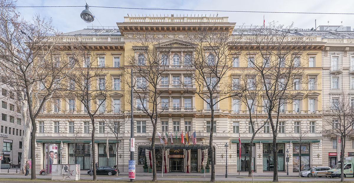 Grand hotel wien wikipedia for 3 designhotel wien