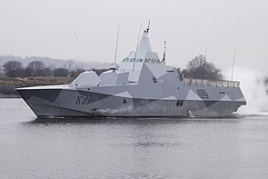 HSwMS Visby in 2013