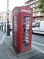 K6 telephone kiosk, Queens Avenue, Muswell Hill.jpg