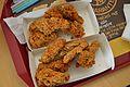KFC - Pressure-fried Chicken Wings - Kolkata 2013-02-08 4438.JPG