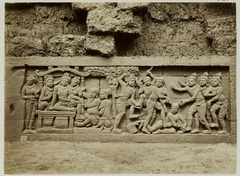 KITLV 27974 - Kassian Céphas - Relief of the hidden base of Borobudur - 1890-1891.tif