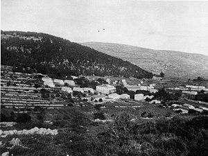 Kiryat Anavim - Image: K Iryat Anavim 1944