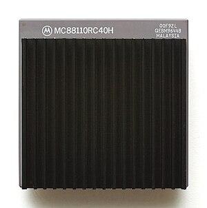MC88110 - A MC88110 microprocessor