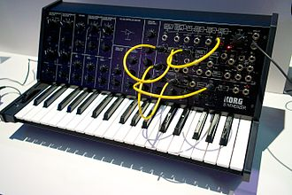 Korg MS-20 - The fully built MS-20 Kit – the limited edition kit version of the MS-20 Mini.