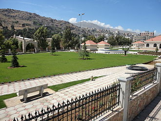 Beqaa Valley - Municipal garden of Qabb Ilyas