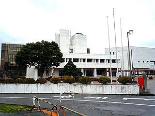 Kaminoyama City in Tōhoku, Japan