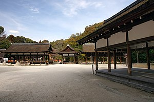 Kamigamo Shrine - A serene expanse at the shrine