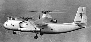 Kamov Ka-22 Soviet experimental gyrodyne
