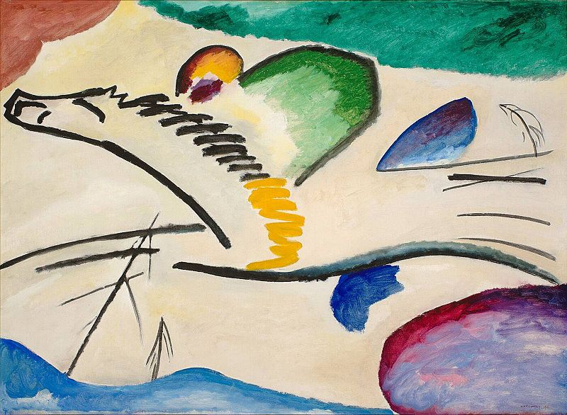 Wassily Kandinsky 1916 ( Moscow )