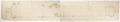 Kanon ritning på kanonrör återgivet i naturlig skala - Skoklosters slott - 98086.tif