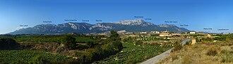 Sierra de Cantabria - Panorama of the Sierra de Cantabria