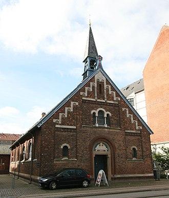 Capernaum Church, Copenhagen - Image: Kapernaumskirken Copenhagen