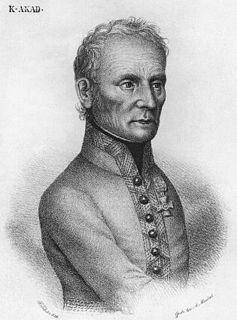 Karl Mack von Leiberich Austrian general