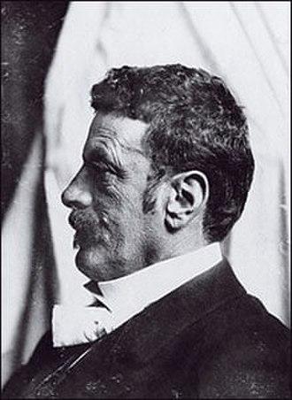 Karl Wittgenstein - Side portrait of Karl Wittgenstein, 1910