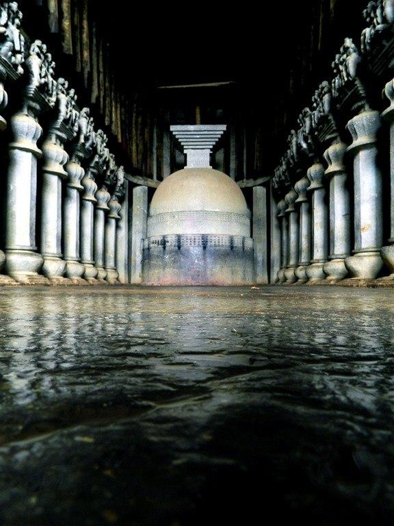 Karla chaitya stupa
