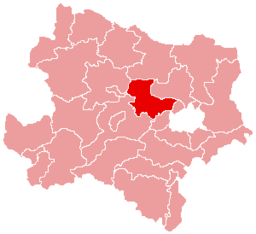 Bezirk Tulln location map