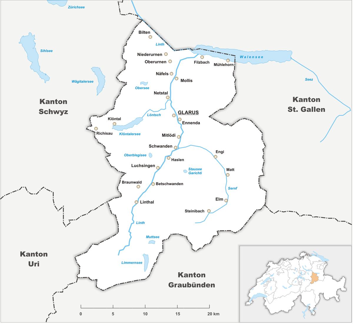 Canton of Glarus Wikipedia