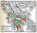 Karte aus dem Buch Römische Provinzen von Theodor Mommsen 1921 01.jpg
