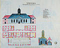 Kastellet Church and Prison, 1754.jpg